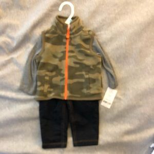 Carter's baby boys outfit 6 months NWT